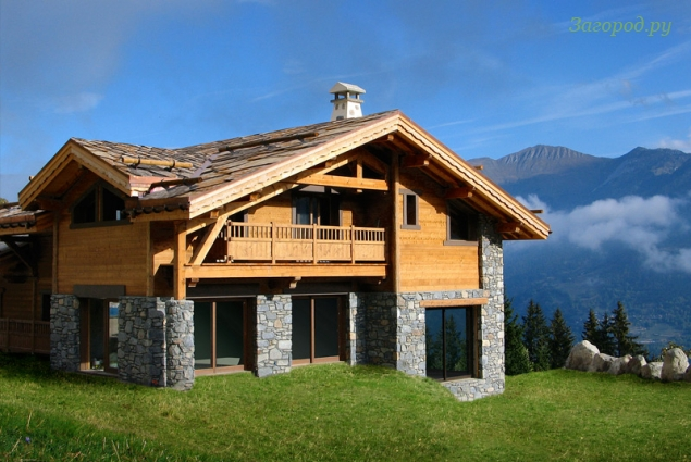 альпийский коттедж